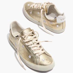 Veja x Madewell Gold star esplar sneakers